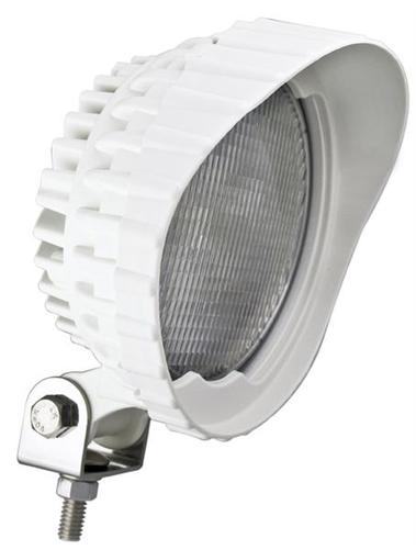 LED WRK LAMP WHT HOUSING 130X85X158 12V