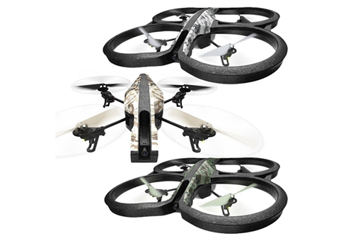 AR DRONE 2.0 ELITE SNOW WHITE