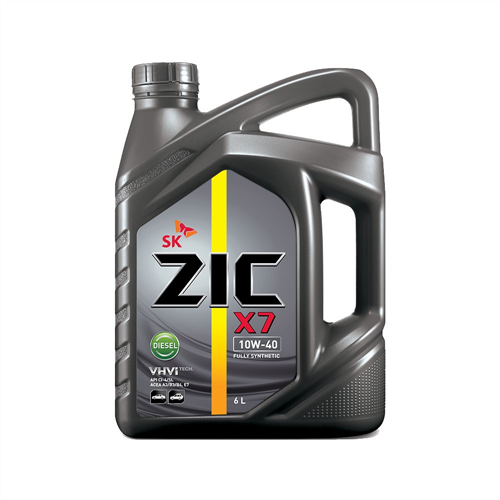 ZIC X7 DIESEL 10W-40 FULL SYNTHETIC OIL 6 L