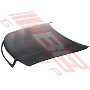 BONNET - ZINC - WITH WIPER HOLES - AUDI A4 1995