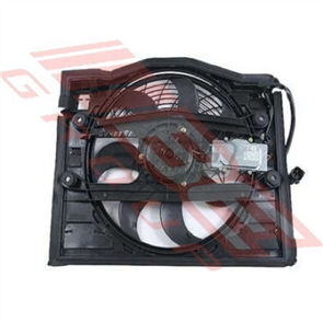 AIR COND - CONDENSER FAN ASSY - BMW 3'S E46 1998