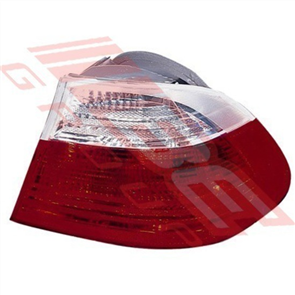 REAR LAMP - R/H - CLEAR/RED - BMW 3'S E46 2D 1998