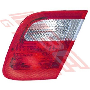REAR LAMP - R/H - INNER - CLEAR/RED - BMW 3'S E46 4D 1998