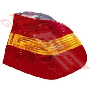 REAR LAMP - R/H - RED/AMBER/RED - BMW 3'S E46 4D 2001