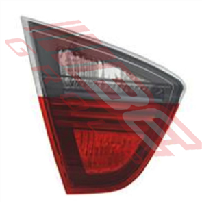 REAR LAMP - L/H - RED/CLEAR - INNER - BMW 3'S E90 2005-08 4DR