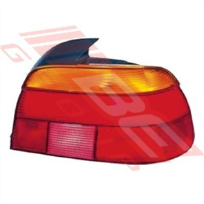 REAR LAMP - L/H - AMBER/RED - BMW 5'S E39 1996-2000