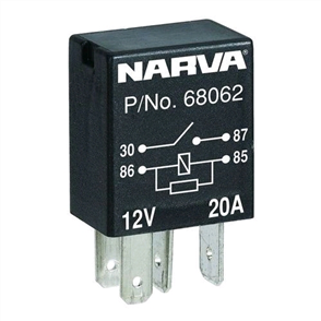 RELAY MICRO 12V 4PIN 20AMP