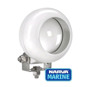 W/LAMP 9-50V LED MARINE ROUND