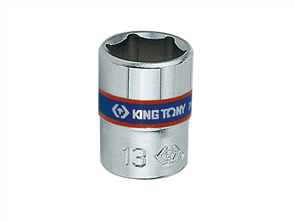 KING TONY 1/4 DR-5MM 6PT SOCKET (TAG)