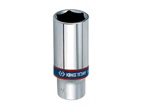 KING TONY 3/8DR-7/16 6PT DP SOCKET