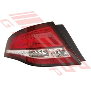 REAR LAMP - L/H - DARK RED - FORD FALCON FG 2008- 4DR G6