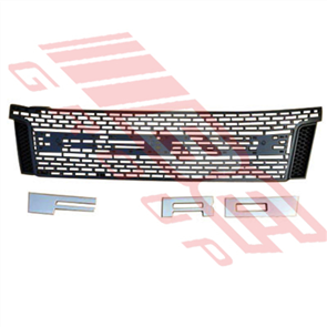 "GRILLE - ""FORD"" IN WHITE - FORD RANGER 2012"