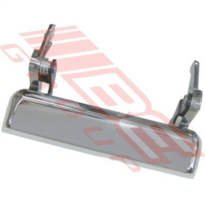 TAILGATE - HANDLE - CHROME - MAZDA B SERIES 1996-99