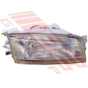 HEADLAMP - R/H - GLASS LENS - MITSUBISHI LANCER CK SED 1996-99