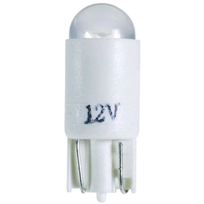 LED WEDGE 12V T-10mm WHITE