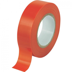 TAPE PVC INSUL MATT RED