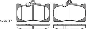 FRONT DISC BRAKE PADS - TOYOTA LEXUS GS#  04-