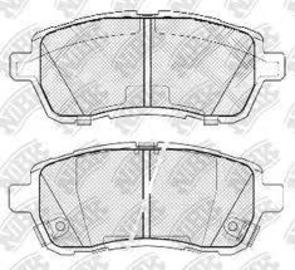 FRONT DISC BRAKE PADS - FORD/MAZDA 2 07- DB1941 E