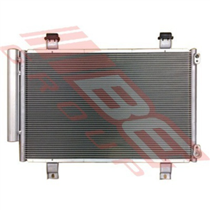 CONDENSER - PFC - W/SUBCOOL - 16MM/ 5.2MM - SUZUKI SWIFT 2005