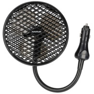 12 Volt Vehicle Fan with High/Low setting and Cigarette Lighter Plug