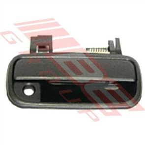 DOOR HANDLE - FRONT OUTER - BLACK - L/H - TOYOTA HILUX 2WD/4WD 1999-01