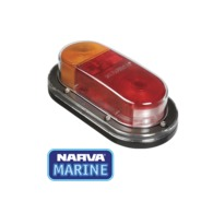 12 Volt Rear Stop/Tail, Direction Indicator Lamp with In-built Retro Reflector and Licence Plate Option