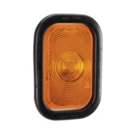 12 Volt Sealed Rear Direction Indicator Lamp Kit (Amber) with Vinyl Grommet