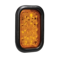 10-30 Volt L.E.D Rear Direction Indicator Lamp Kit (Amber) with Vinyl Grommet
