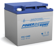POWERSONIC AGM D/Cycle 12V-40.7A/h
