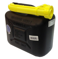 FUEL CONTAINER 5L BLACK  DUPLAST