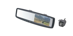 Mirror Back Up Camera System  4 Clip-On