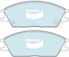 FRONT DISC BRAKE PADS - HYUNDAI EXCEL ACCENT GETZ