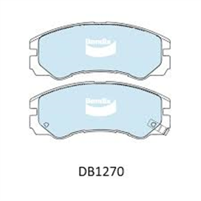 FRONT DISC BRAKE PADS - ISUZU TROOPER 92-95