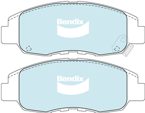 FRONT DISC BRAKE PADS - HONDA CIVIC 00-