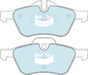 FRONT DISC BRAKE PADS - BMW MINI COOPER 1.6   02-