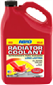 ABRO RADIATOR COOLANT RED 3.78L