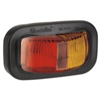9-33 Volt L.E.D Side Marker Lamp (Red/Amber) with Vinyl Grommet and 0.5m Cable