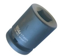 Socket Impact 3/4 Dr Square Metric 17mm