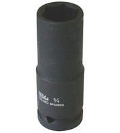"Deep Socket Impact 1-1/2"" Drive 6PT Metric 41MM"
