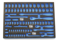 Socket & Accessory EVA Foam Tool Storage System