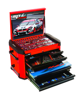 252pc ''Motorsport'' Team Series Concept Tool Kit Red/Black