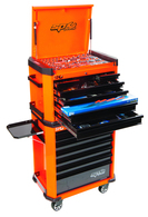 253pc ''Motorsport'' Series Concept Tool Kit - Orange
