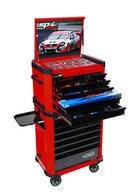 253pc ''Motorsport'' Team Series Concept Tool Kit - Red/Black