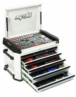 295pc ''Motorsport'' Series Concept Tool Kit - White