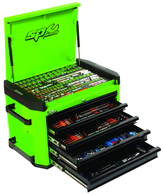 295pc ''Motorsport'' Series Concept Tool Kit - Green/Black