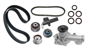 DIAMANTE CAMBELT KIT, QUAD CAM INCL. WATER PUMP