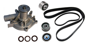 CAM BELT KIT MITSUBISHI CHALLENGER 4G63B-T, SOHC INCL. WATER PUMP