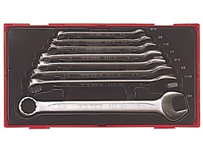 TENG 8PC COMB SPANNER SET 5/16-3/4IN - TC-TRAY