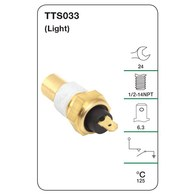 TRIDON WATER TEMP SWITCH (LIGHT)