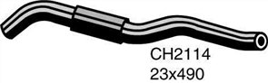 Radiator Upper Hose  - DAIHATSU CHARADE . - 1.0L I3  PETROL - Manual &